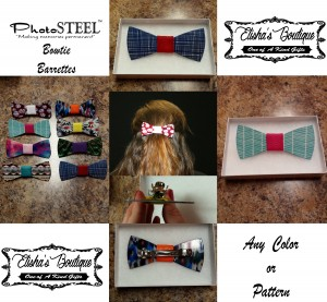 BOWTIE BARRETTES FOR FACEBOOK